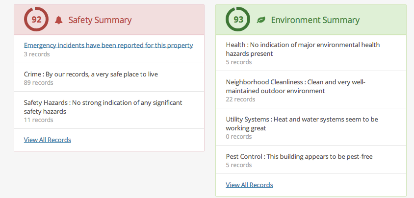 Revaluate Safety and Environment Summaries