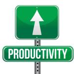 productivity road sign